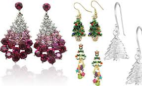 beautiful ear rings 10 beautiful christmas tree earrings 2017 collections