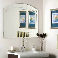Nautical Bathroom Mirrors Vanities Hang Large Frameless Bathroom Mirror Hanging Contemporary
