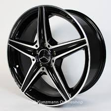 mercedes c63 amg alloys amg 18 inch alloy wheel set mercedes c class w205 5 spoke