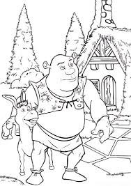 shrek coloring pages getcoloringpages com