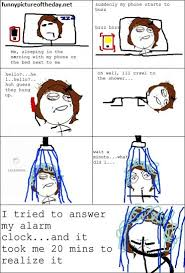 Foto Meme Comic - answering phone while sleeping funny meme comic cool pinterest