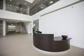 Bespoke Reception Desk Business Aviation Airport Bespoke Furniture Office Options