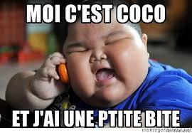 Meme Moi - moi c est coco et j ai une ptite bite fat chinese baby meme