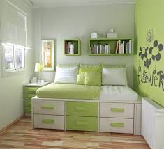 Breathtaking Cool Bedroom Designs For Small Rooms Bedrooms  Bed - Bedroom color green