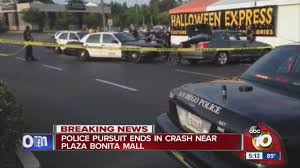 plaza bonita black friday hours police pursuit ends in crash near plaza bonita mall youtube