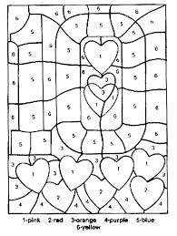 color by numbers coloring pages pertaining to motivate in coloring