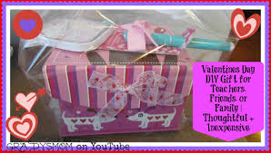 Homemade Valentines Day Gifts by Diy Valentines Day Gift Perfect For Teachers Family Or Friends
