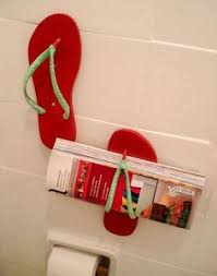flip flop bathroom accessories i think this is where my family