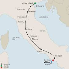 Map Of Capri Italy by Tours Of Italy With Rome Florence U0026 More Globus