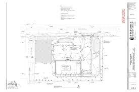 Floor Plan Survey Fastbid 3 Dollar General Esparto Ca Plans Ts1 Title Sheet
