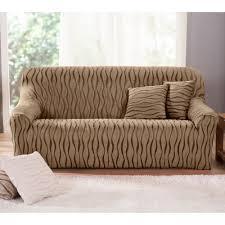 housse extensible canape housse extensible jacquard imprimé fauteuil canapé blancheporte