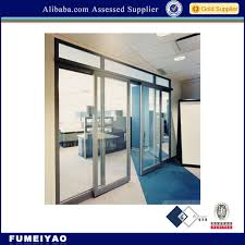 frameless glass sliding doors top hung aluminum track telescoping frameless glass sliding door