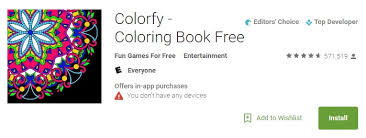 free in app purchases android best free coloring book for adults android app