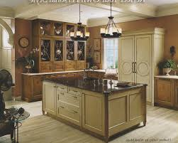 Kitchen Butcher Block Island by Brown Varnished Wooden Butcher Block Seating And Granite Top