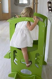 Toddler Stool For Kitchen by Learning Tower Kids Adjustable Height Kitchen Step Stool With