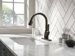 delta leland single handle pull down standard kitchen faucet