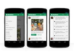 private neighborhood social network nextdoor makes the leap to android