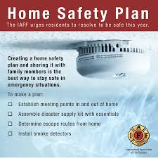 Family Safety Keep Your Family Safe Have A Fire Safety Plan