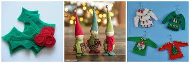 15 fabulous felt ornaments
