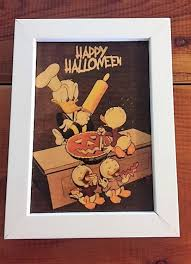 disney halloween art donald duck disney art donald duck