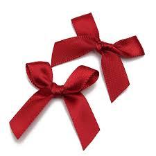 50pcs silk ribbon bows bow bowknots ribbon gift decoration