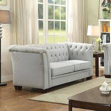 chloe velvet tufted sofa tufted living room furniture tufted sofa gray suede chloe velvet