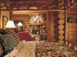 Log Home Bedrooms Cabin Living Room Decor Cabin Master Bedroom Decorating Ideas Log