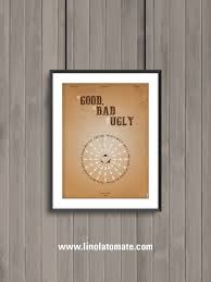 Good Bad Ugly The Good The Bad And The Ugly Minimalist Movie Poster