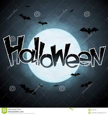 halloween background moon eps 10 halloween background with moon and bats stock vector