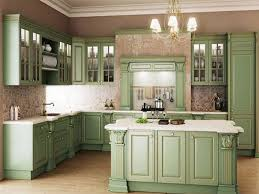Kitchen Classic Cabinets Kitchen Classic Kitchen With Warm Green Color Scheme From