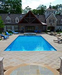 Pool Ideas For Backyard Natural Stone Patio U0026 Wall Design For Pools U0026 Landscaping Nj