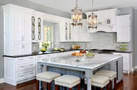 pics of kitchens with white cabinets and gray walls traditional formal white and grey kitchen cabinets