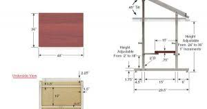 Standard Drafting Table Size Standard Drafting Table Size And Dimension To Build Inspirations