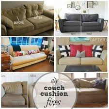 How To Fix Sofa Cushions Remodelaholic 28 Ways To Bring New Life To An Old Sofa