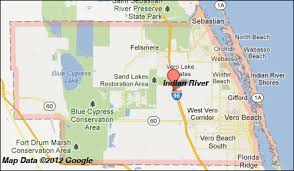 Map Of North Florida Counties Indian River County Florida Map