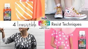 4 irresistible colorshot resist techniques ilovetocreate