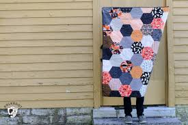 super cute hexagon halloween projects