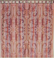 paisley window treatments beautiful decorative indian sari
