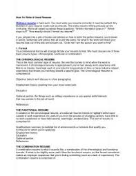 Standard Resume Examples Of Resumes 81 Marvellous Formats For Sample Quality