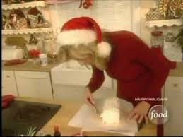 sandra lee chocolate yule log youtube