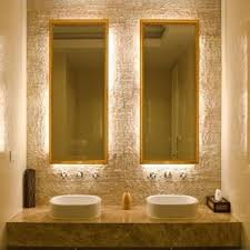 backlit bathroom vanity mirror backlit bathroom vanity mirrors 225 best bathroom designs images on