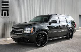 Used 24 Inch Rims Black Tahoe Rolling On 24 Inch Rims By Exclusive Motoring U2014 Carid