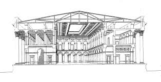 file brongniart plans du palais de la bourse de paris et du