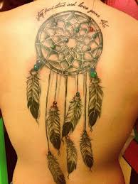 whole back dreamcatcher tattoo design of tattoosdesign of tattoos