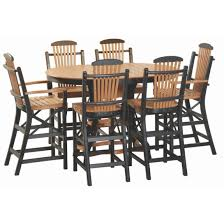 oval pub table set poly oval pub table set amish crafted furniture