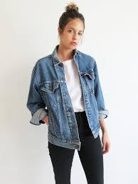 best 25 jean jackets ideas on pinterest oversized denim jacket