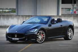 maserati black maserati grancabrio mc now on sale in australia from 355 000