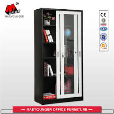 china office storage glass door file storage cupboard china