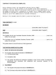 service contract form editable terms of service contract template