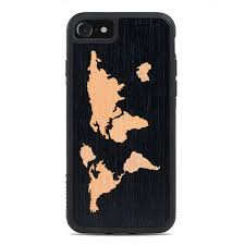 world map wood iphone 7 from the wood reserve